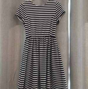 Peter Som striped knit dress S